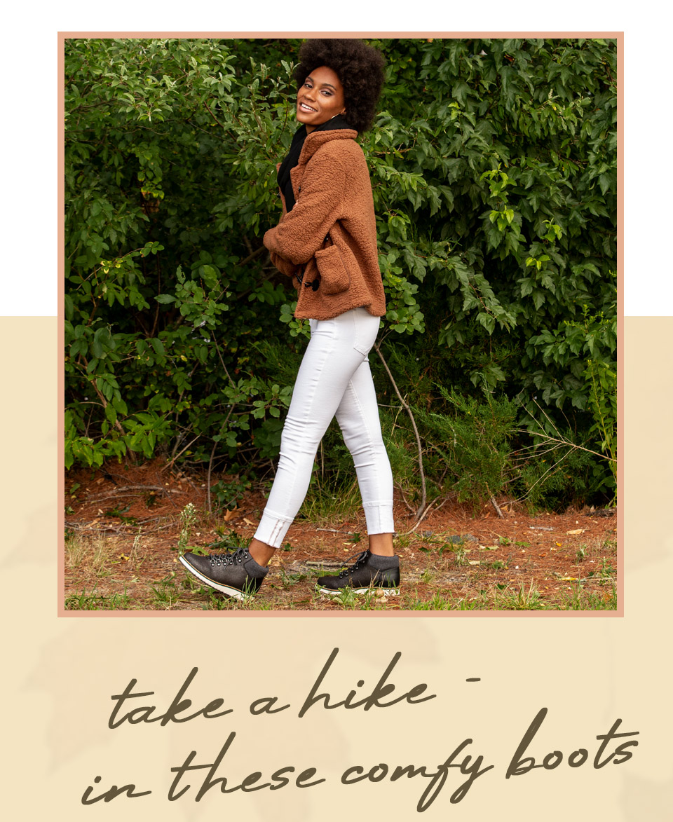 Take a Hike - In these Comfy Boots | Shop the Clifton