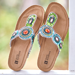 White Mountain Footwear Beaded Beauties Shop